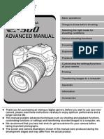 Olympus E500 advanced manual