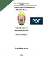 Supervisión Educativa Informe 2015
