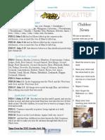 awana february newsletter