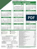 sccpss 2014-2015 academic calendar