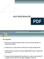 1-Idle Mode Behavior