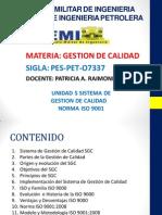 Unid 6 SGC - Norma ISO 9001