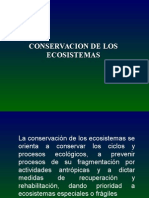 Conservacion Ecosistemas