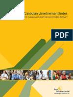 2015 Sun Life Canadian Unretirement Index