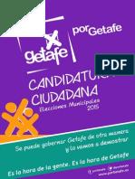 PorGetafe - Candidatura Ciudadana