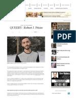 Queery | Robert J. Priore | Ascendance | Blade