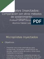 Micropilotes Inyectados