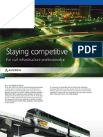 Autodesk Infrastructure Staying Competitive