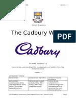 as 90988 cadbury assessment 2015 - student copy