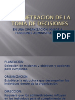 La Penetracion de La Toma de Decisiones