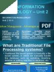 Cape Ite28093 Unit 2 Database Management