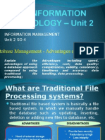Cape Ite28093 Unit 2 Database Management
