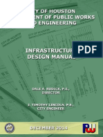 City of Houston Infrastructure Design Manual