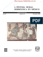 La Pintura Mural Prehispanica en México - B23