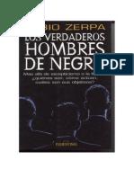Verdaderos Hombres de Negro, Los - Zerpa, Fabio