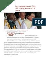 Deconstructing Independence Day Discourse 2015 a Response to Dr. Dayan Jayatilleka