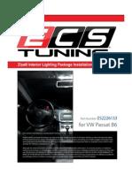 VW B6 Passat Ziza Interior LED Light DIY