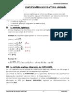 1cours Simplification Des Fonctions Logiques