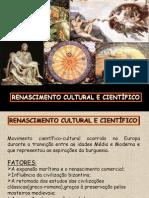 Renascimento Cultural e Cientifico