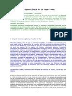 M Castells_La Geopolítica de La Identidad_Artº La Vanguardia