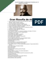 82 Sabios Consejos de Gurdjieff a Su Hija Para Transitar Por El Camino de La