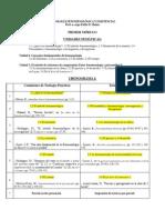 Conograma Modulo 1 2014
