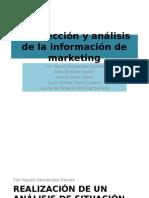 Recoleccion y Analisis de La Info de Marketing