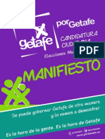 PorGetafe - Manifiesto