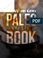 FLAVORGOD Paleo&Glutenfree Recipebook