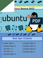 Desain Slide LibreOffice Impress