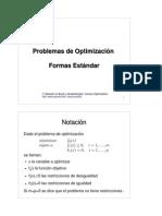 7 - Problemas de Optimización - Formas Estándar