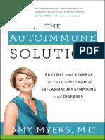 The Autoimmune Solution (an excerpt)