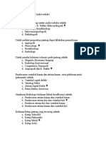 Soal Ujian Blok 16 Cardiovaskuler