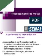 Conformação de Materiais Metálicos
