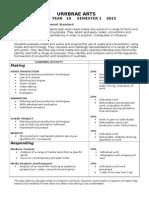Media 10 Jackson Assessment Plan 2015 Sem 1