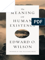 Edward O. Wilson - The Meaning of Human Existence