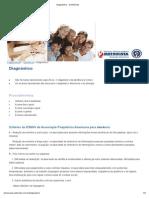 Diagnóstico __ Demências