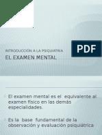 El Examen Mental