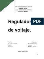 REGULADORES DE VOLTAJE LINEALES