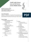 syllabus-seventh grade science-2013-2014
