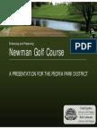 Newman Golf Course - Plan Presentation to Board