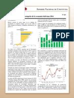 Coy 263 - Desempeño de La Economía Boliviana 2014