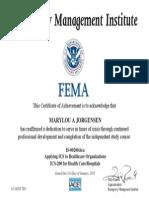 emergency management institute ics 200