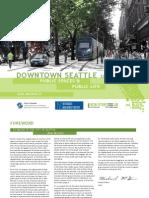 Public Spaces Public Life Downtown Seattle Gehl