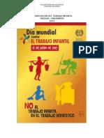 Erradicación Del Trabajo Infantil 2013