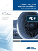 Recent Changes in Aerospace Standards