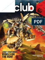 LEGO Club Magazine Red Brick January