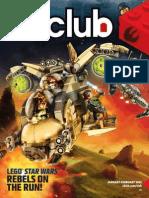 LEGO Club Magazine Red Brick January