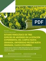 Estudio Fenológico de Tres Especies de Arvenses en La Estación Experimental Del Campus Nueva Granada, Universidad Militar Nueva Granada, Cajicá (Colombia)