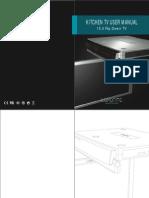 Luxurite Kitchen TV-LFV15 User Manual